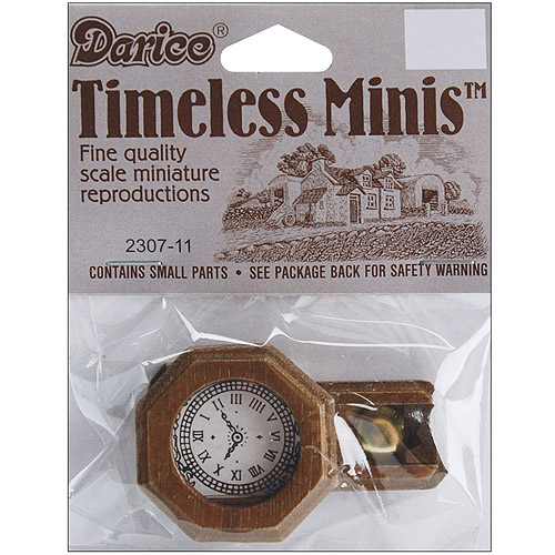 Timeless Miniatures Pendulum Wall Clock