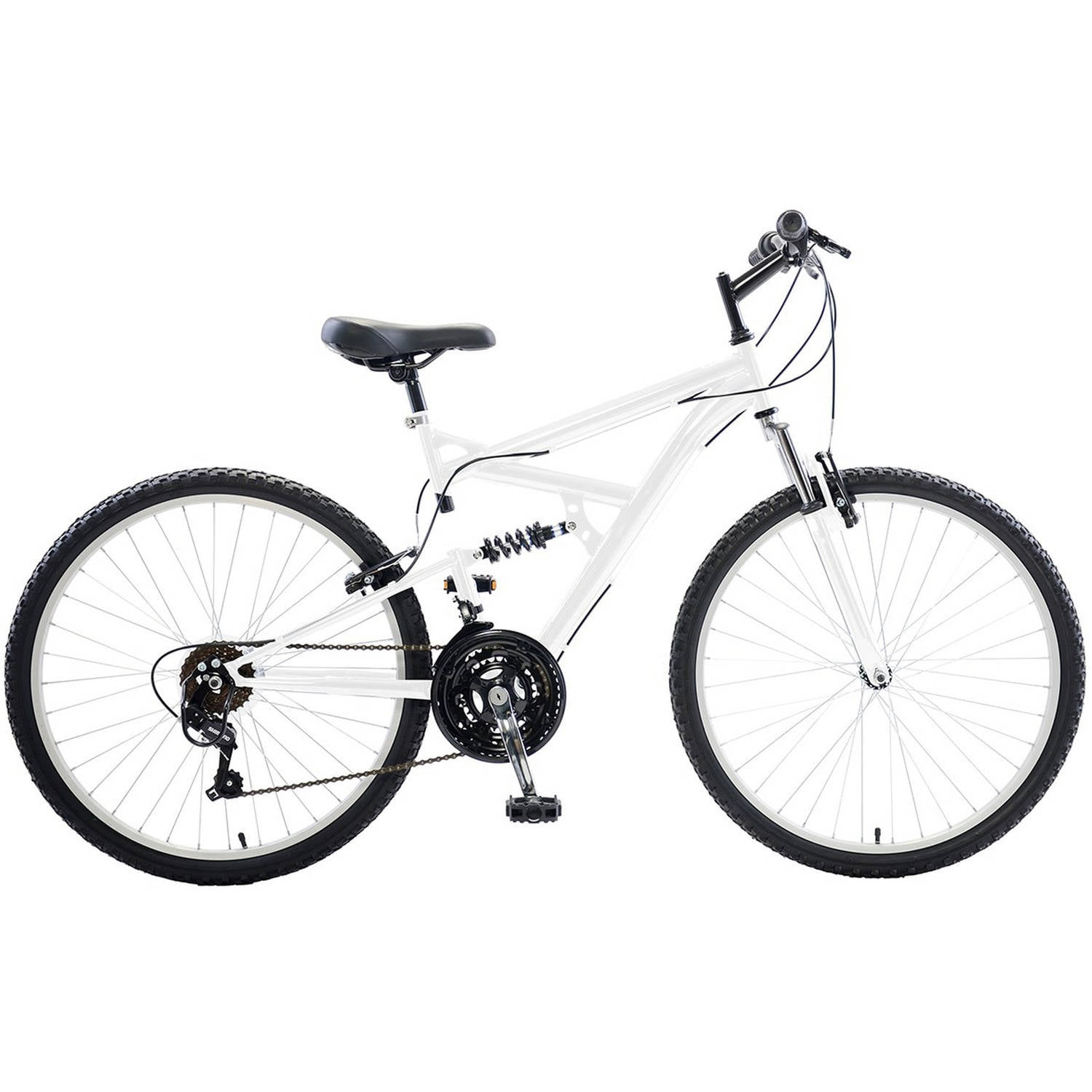"Cycle Force Dual Suspension Mountain Bike, 26"" Wheels, 18"" Frame, Men's Bike by Cycle Force Group"