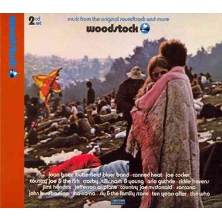 Music From The Original Soundtrack and More: Woodstock (CD) - Halloween Music Collection Cd