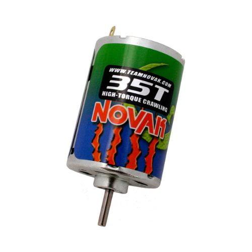 Novak 3535 Terra Claw Crawler Brushed Motor 35T Multi-Colored