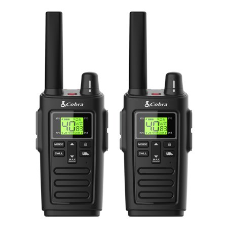Cobra RX385 Walkie Talkie - Rugged Water Resistant and up to 32 Mile Range