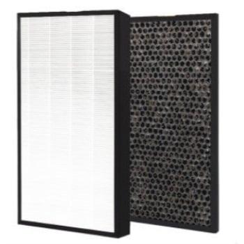 1 set levoit air purifier lv-pur131 compatible hepa filter plus carbon pre filter placement Flow Pre Filter