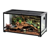 """REPTIZOO Reptile Glass Terrarium,Double Hinge Door with Screen Ventilation Reptile Terrarium 36"""" x 18"""" x 18"""""""