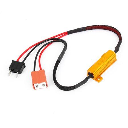 Decoder Installation (Vehicles Auto Car H7 Fog Light Error Free Load Resistor Decoder)
