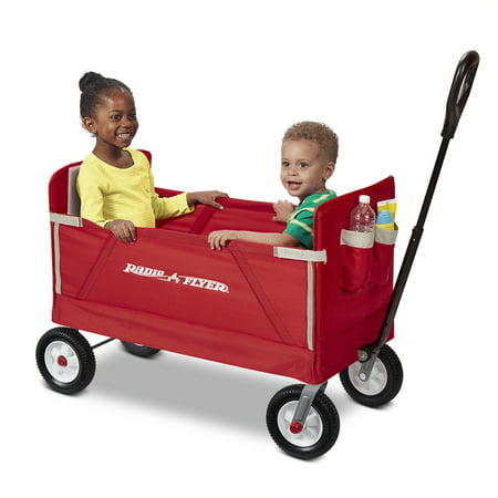 Walmart: Radio Flyer, 3-in-1 Off-Road EZ Fold Wagon, Red Only $59