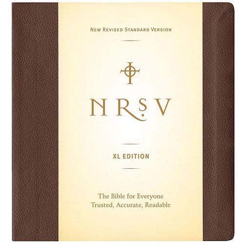 Holy Bible: New Revised Standard Version, Extra Large Edition
