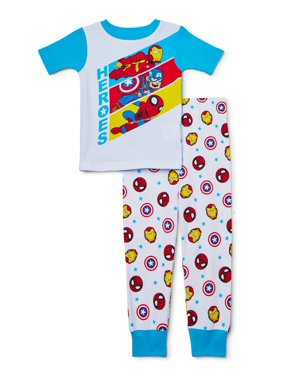 Avengers Toddler Boy 2 Piece Cotton Sleeper
