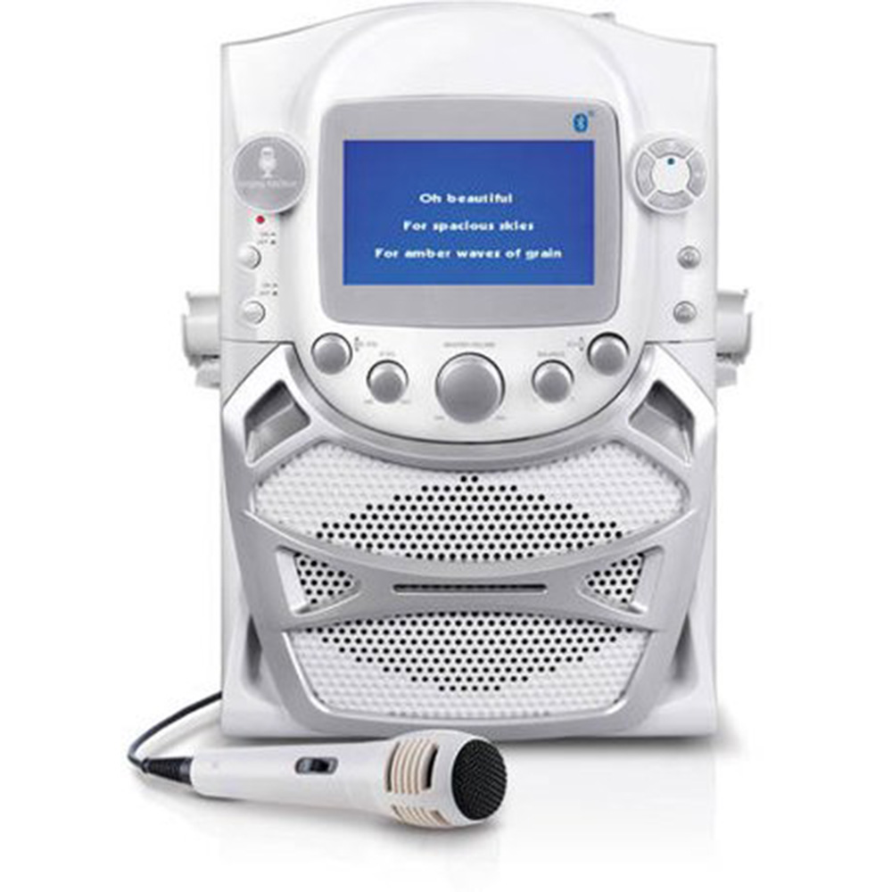 "Refurbished Singing Machine Stage 2 CD+G Karaoke System w/ 5.5"" Monitor & Microphone"