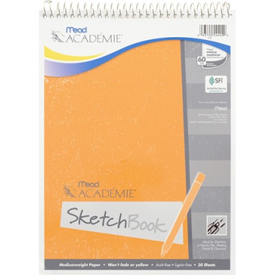 MEAD ACADEMIE SKETCH BOOK MEA54402