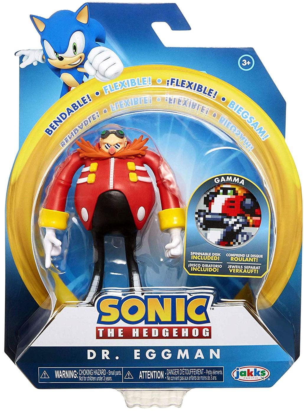 Sonic The Hedgehog Basic Dr Eggman Action Figure Walmart Com Walmart Com