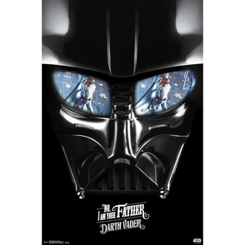 """Star Wars(Tm) I Am Your Father Poster 22""""X34""""-"""