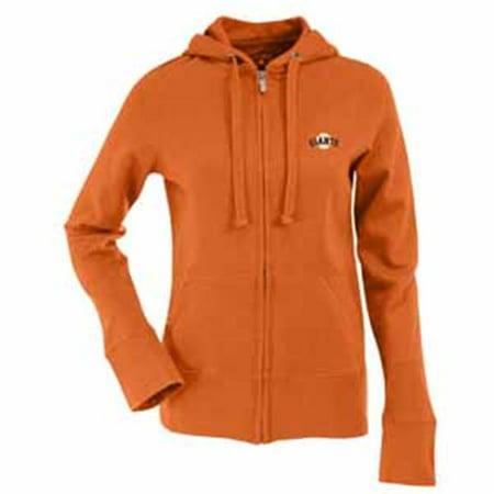 Antigua AN-766517823302 San Francisco Giants Womens Zip Front Hoody Sweatshirt in Alternate Color X-Large by