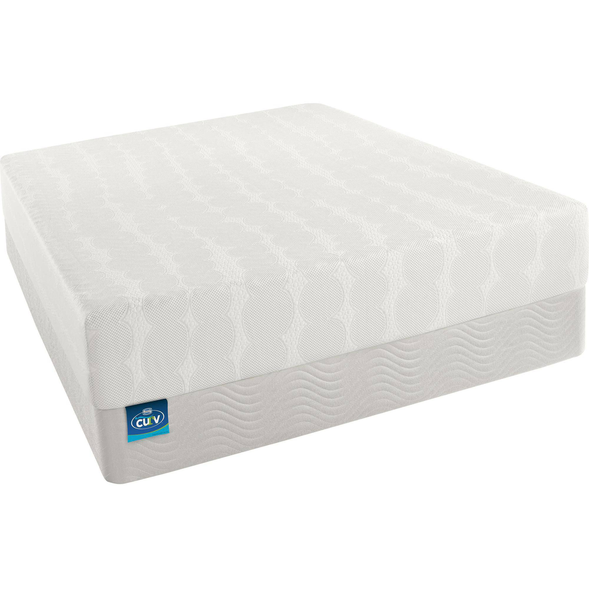 simmons beautyrest curv amazing style memory foam mattress walmartcom
