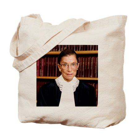 CafePress - ART Coaster Ruth Bader Ginsburg - Natural Canvas Tote Bag, Cloth Shopping Bag - Art Tote