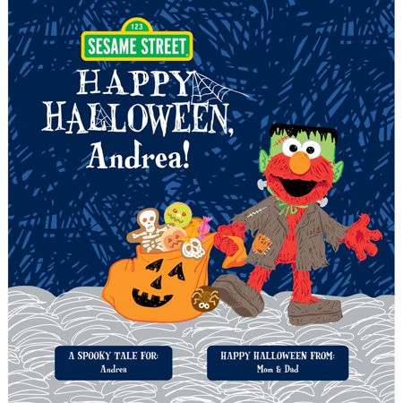 Personalized Book - Sesame Street: Happy Halloween! - Sesame Street Halloween Book