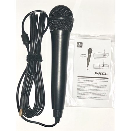 Rock Band USB Karaoke Microphone for PS3, PS4, X-Box One, X-Box 360, PC &