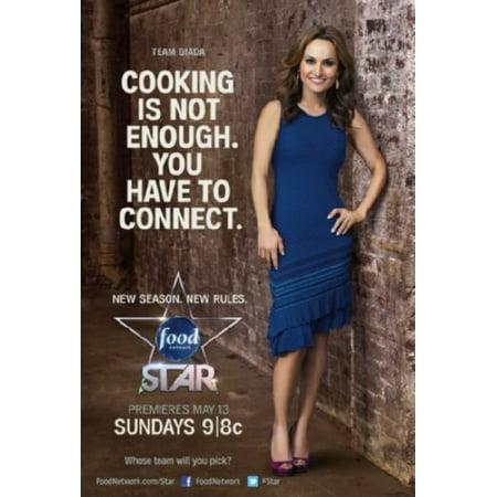 27x40 Next Food Network Star Poster Entertainment Decor Walmartcom