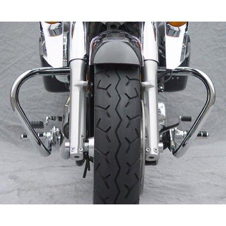 National Cycle P4003 Paladin Chromed Steel Highway Bars for 1998-2003 Honda VT7 - 1-1/4