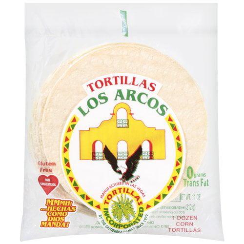 Los Arcos 1 Doz Corn Tortillas