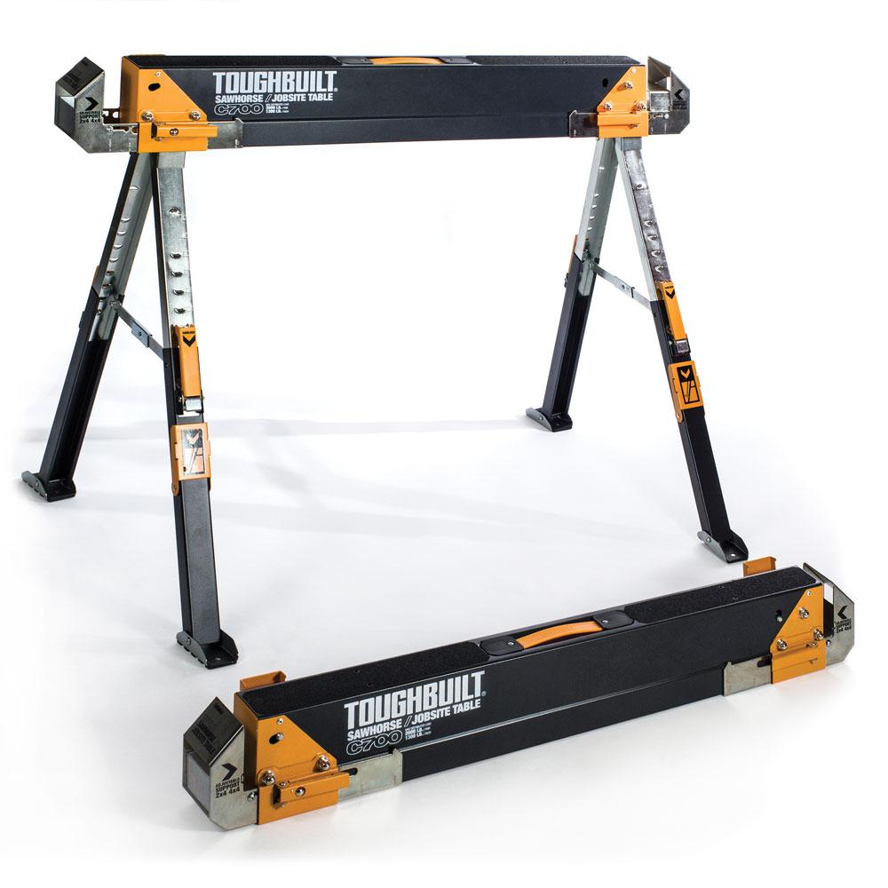 C700 Sawhorse   Jobsite Table by ToughBuilt Industries, Inc.