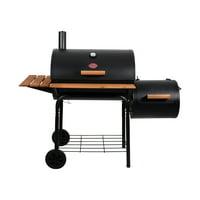 Char-Griller Smokin' Pro Grill & Smoker, Black, E1224