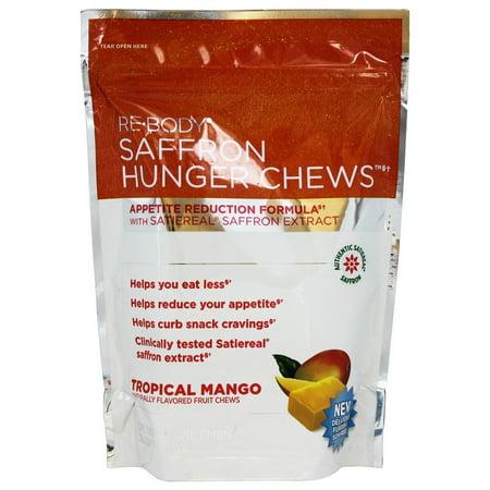 ReBody - Saffron Hunger Chews Tropical Mango - 30 (Mango Hill Doctors)