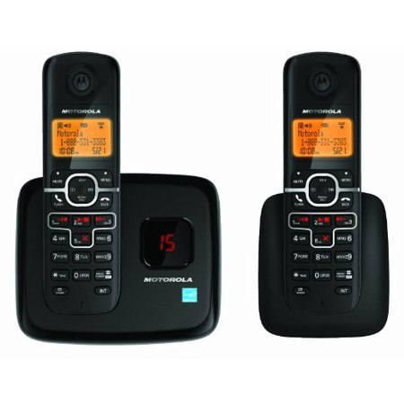 Motorola L702M Digital Wireless Phone with 2 Handsets and Answering (Wireless Digital Telephone)