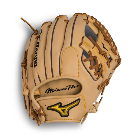 "Mizuno 11.75"" Pro Series Infield Baseball Glove, Right Hand Throw"