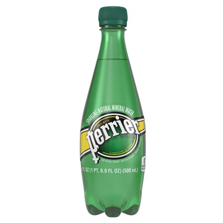 Perrier Sparkling Natural Mineral Water, 16.9 Fl Oz, 24 Count
