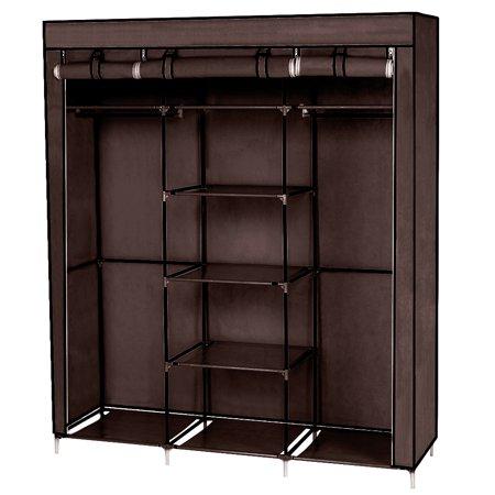 UBesGoo Portable Closet Organizer Wardrobe Storage ...