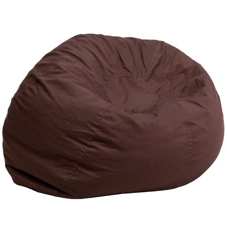 Flash Furniture Oversized Kids Bean Bag Chair, Multiple Colors ()
