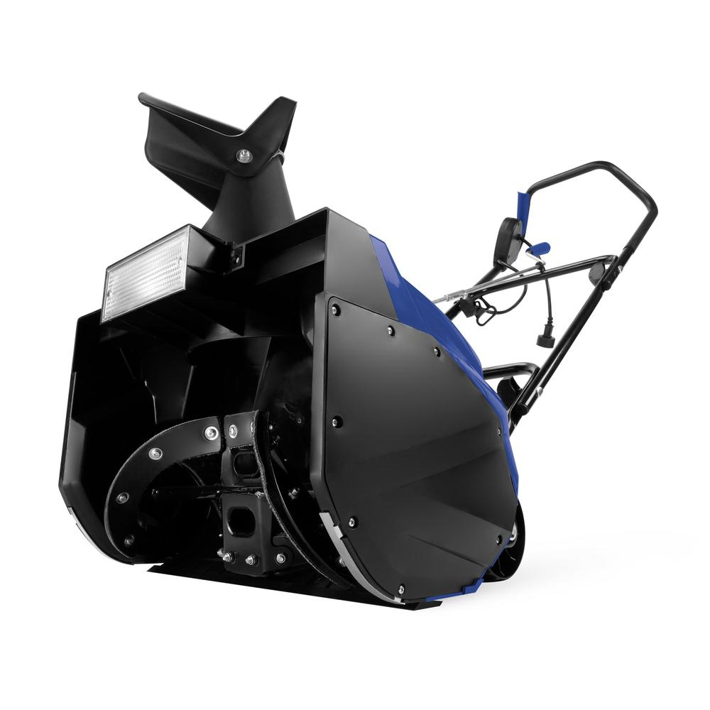 Snow Joe SJ621 Electric Single Stage Snow Thrower | 18-Inch | 13.5 Amp Motor | Headlights