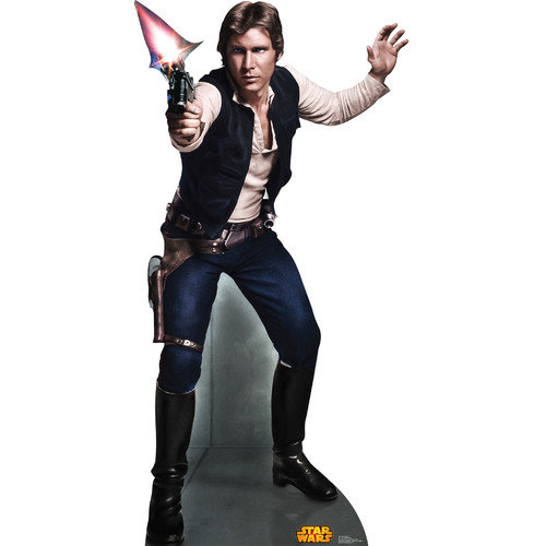 Advanced Graphics Star Wars Han Solo Cardboard Standup