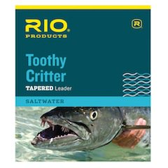 Toothy Critter Leader - Rio Toothy Critter Tapered Leader (Silver)
