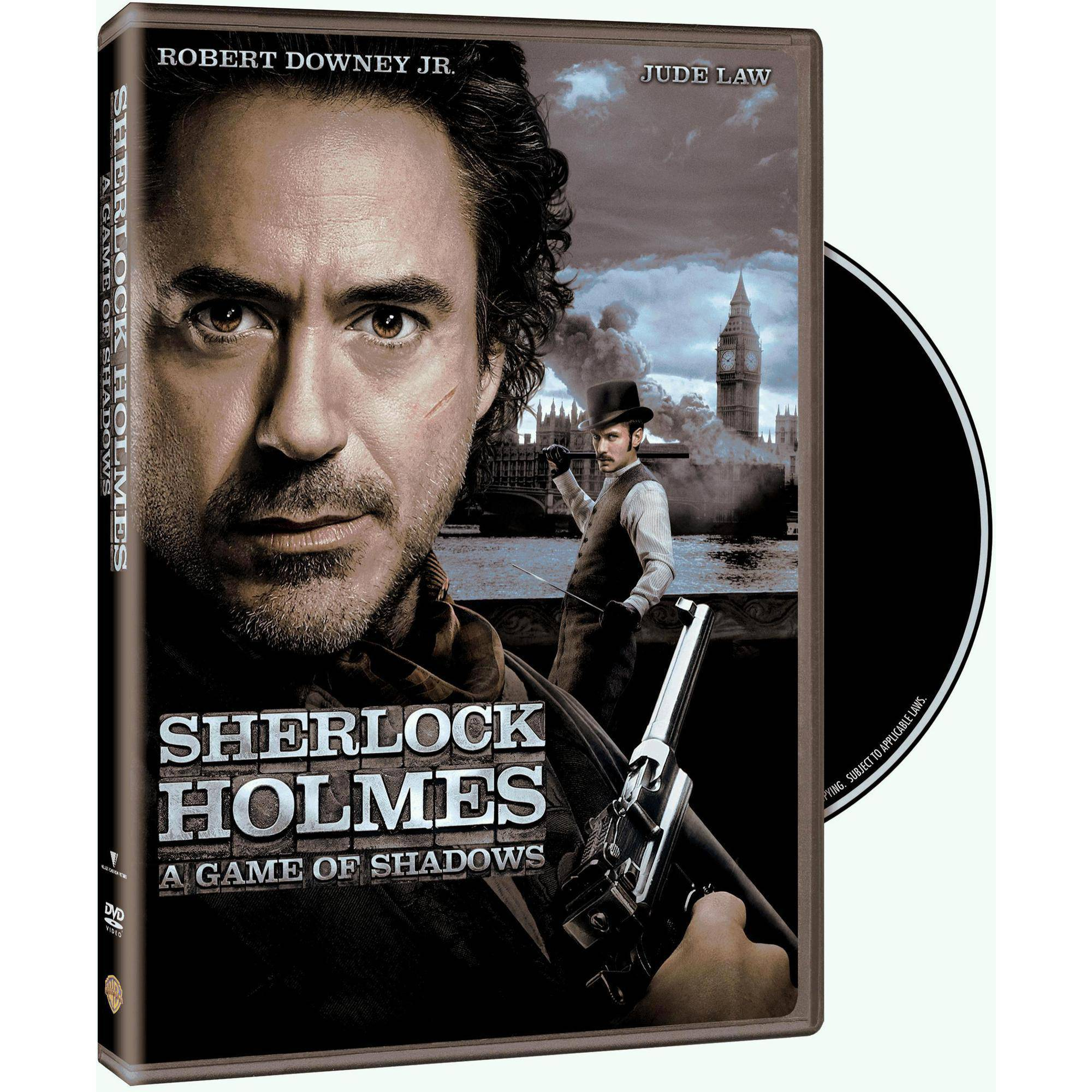 Sherlock Holmes: A Game Of Shadows (With INSTAWATCH) (Widescreen)