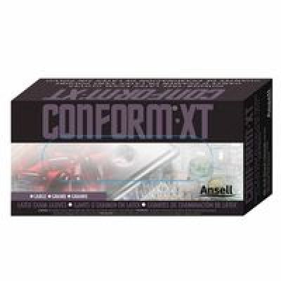 Conform XT Disposable Gloves, Powder Free, Natural Rubber Latex, 5 mil