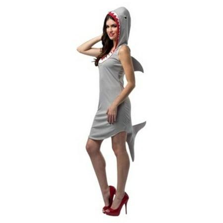 SHARK DRESS ADULT - Shark Adult Costume