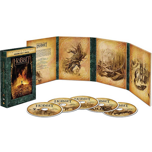 The Hobbit: The Desolation Of Smaug (Extended Edition) (Five Disc DVD   Digital With Ultraviolet) (Widescreen)