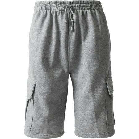 cargo sweat shorts