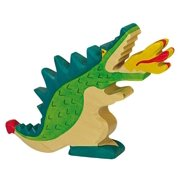 Holztiger Wooden Green Dragon