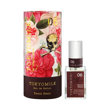 TokyoMilk by Margot Elena - Dead Sexy No. 6 Parfum with Gift Box - Deep Vanilla, Exotic Wood, White Orchid, Ebony | 1 fl oz