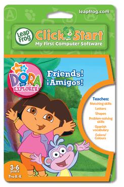 ClickStart Dora the Explorer Friends: Amigos! PT 22653 by