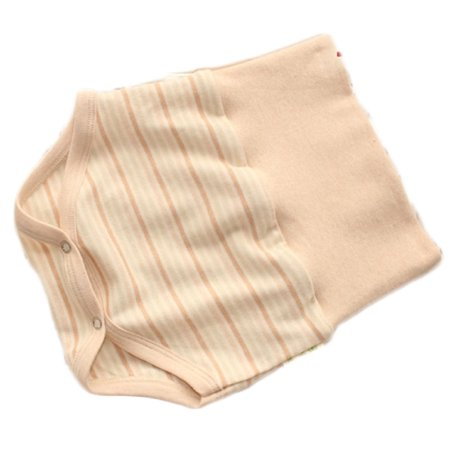 Lian LifeStyle Infant Baby's 1 PK High Waist Organic Cotton Underwear 2 Sizes (Infant Waist Size Chart)