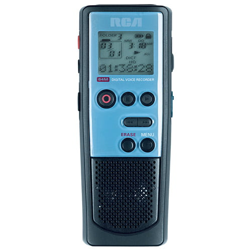 RCA RP5030 64 MB Digital Voice Recorder with USB Connection by RCA