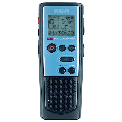 RCA RP5030 64 MB Digital Voice Recorder with USB Connection