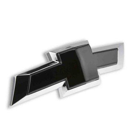 - Black Chevy Bowtie Rear Emblem Insert 2010-2013 Camaro