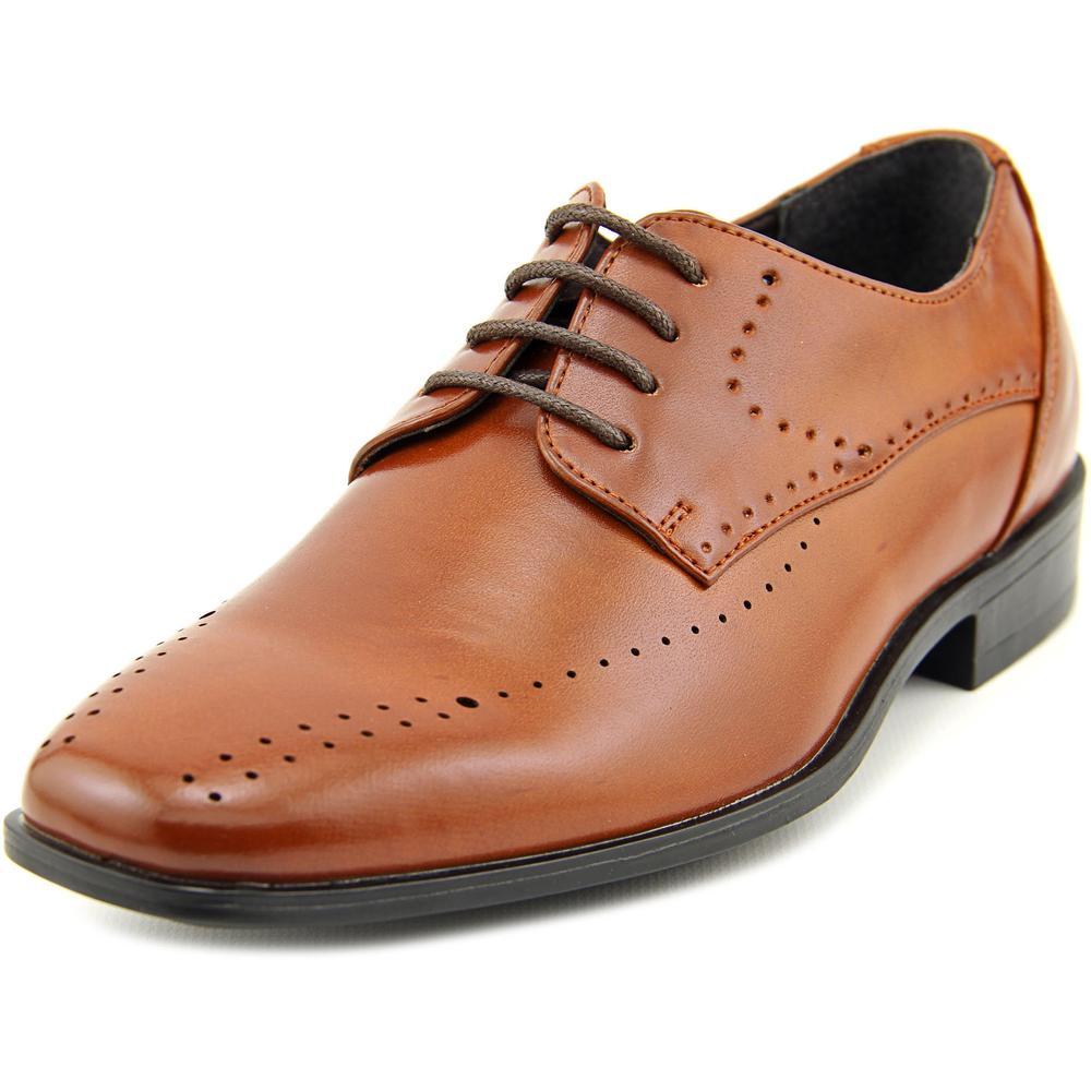 Stacy Adams Atwell Square Toe Leather Oxford by Stacy Adams