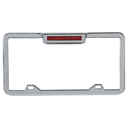 LED Lighted License Plate Frame (Motorcycle License Plate Frame With Led Lights)