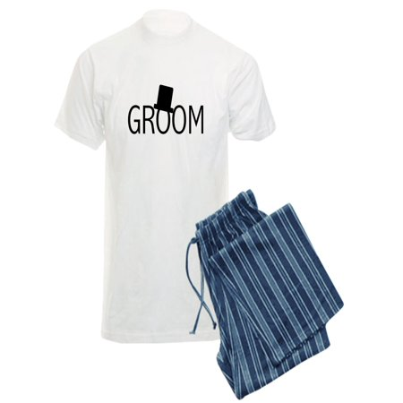 51d1dfca59d6a CafePress - CafePress - Top Hat Groom - Men s Light Pajamas - Walmart.com