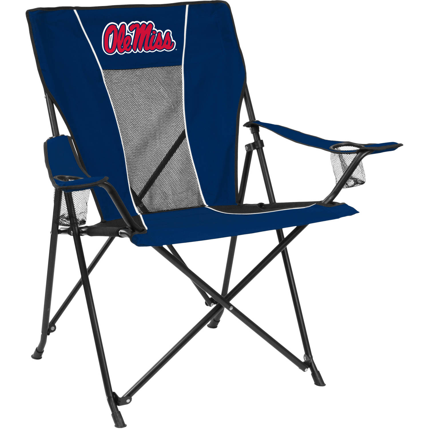 Logo NCAA Ole Miss Game Time Chair